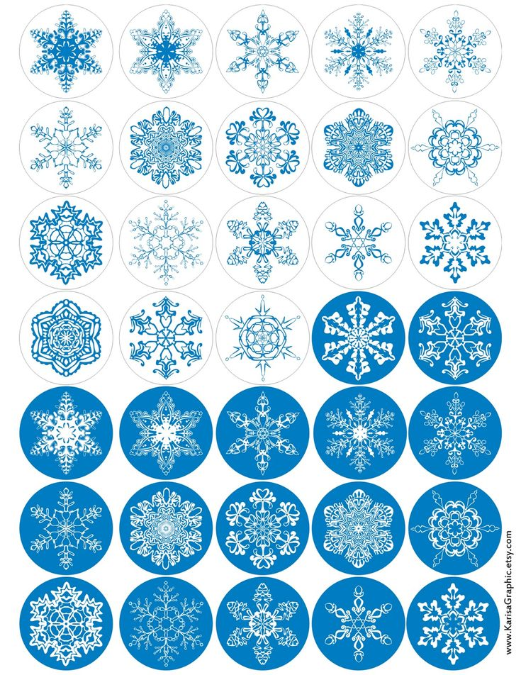 Here is some more snowflakes for you. You can use them for gift tags or winter scrapbooking. Whatever you do they will always look gorgeous and will never melt!