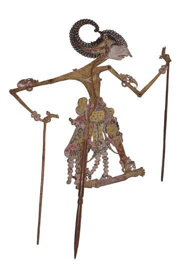 indonesian shadow puppet...would be neat to have a collection framed in shadow boxes?