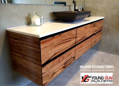 Recycled timber flooring, decking, slabs | Nullarbor Sustainable Timber