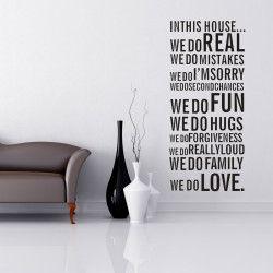We do family, we do love!  Inspireras dagligen av detta väggdekor med en vacker text! Det snygga mönstret samt inspirerande innehållet ger hemmet det lilla extra.   Länk till produkt: http://www.feelhome.se/produkt/we-do-family-we-do-love/  #Homedecoration #art #interior #design #Walldecor #väggdekor #interiordesign #Vardagsrum #Kontor #Modernt #vägg #inredning #inredningstips #heminredning #regler #familj #kärlek #motivation #roligt #citat