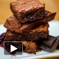 Listen to our #GF chocolate brownie bake-along on The GFree Radio Show