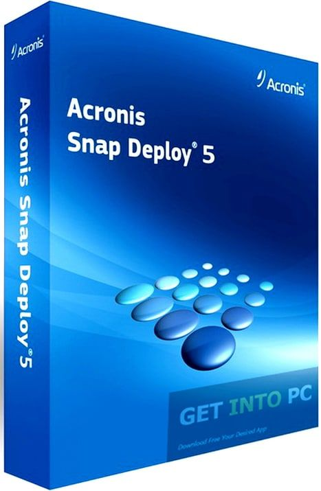 Dada Crackes.com Acronis Snap Deploy 5.0 Crack Serial Key Free Download Acronis Snap Deploy 5.0 Crack Full conveys a correct Disk Image of an ace machine to complex frameworks promptly through multi-cast, influencing