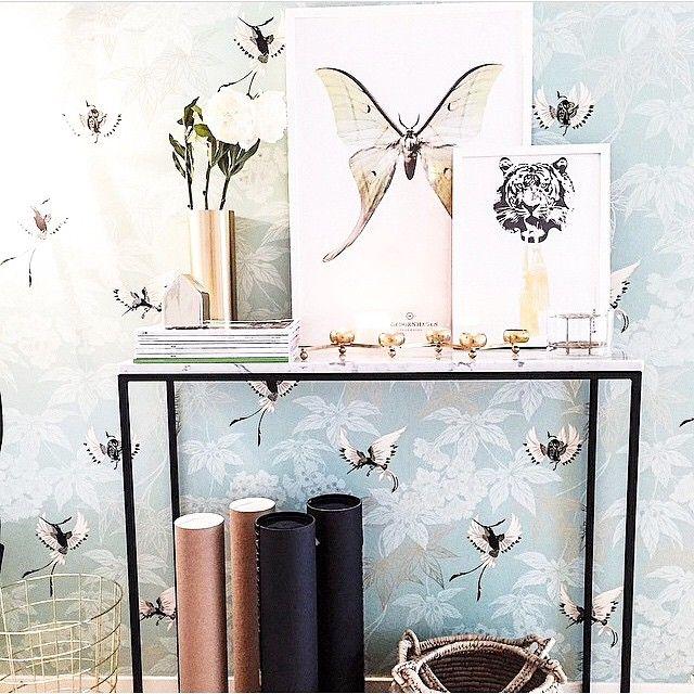 """""""Kasenbergs hallbord och styling av bästa @sommarhed  #kasenberg #marmor #marmorbord #hallbord"""""""
