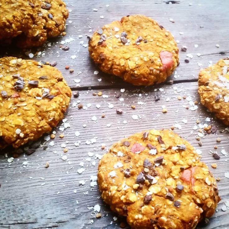 Super Skinny Pumpkin Cookies | The Green Happiness