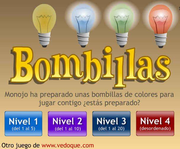 Tic contar hasta 20  http://www.vedoque.com/juegos/bombillas.swf       Tambien en  http://guindo.pntic.mec.es/~jcos0004/primer.html