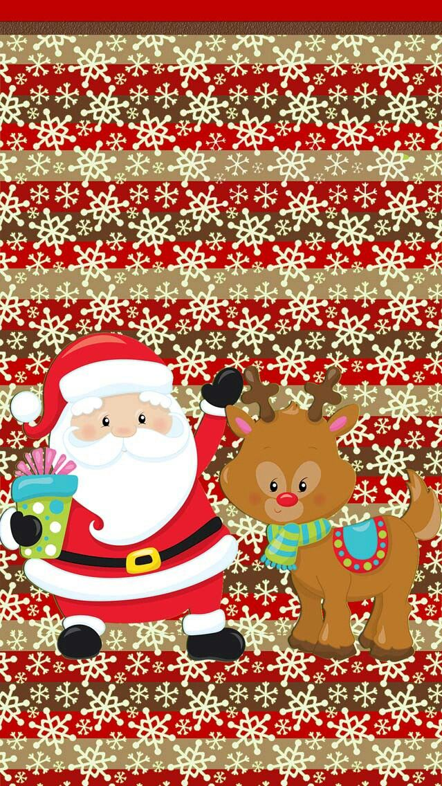 Cute Christmas wallpaper                                                                                                                                                                                 Más