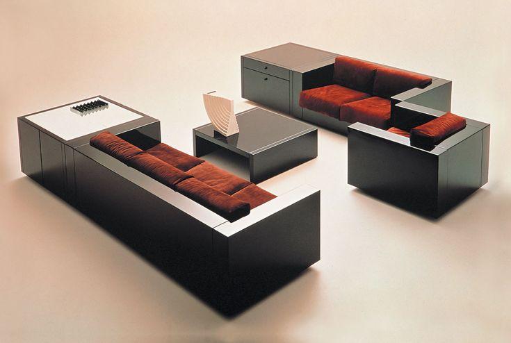 Мебель Poltronova Saratoga, 1964