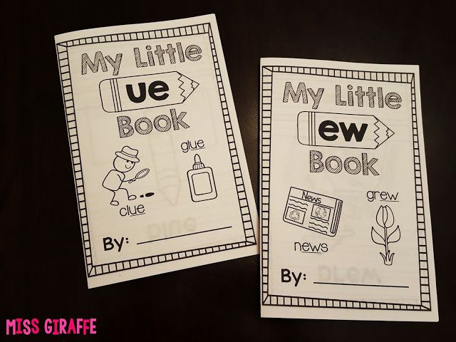 Little phonics books for each sound that practice a bunch of words for that phonics skill - so cute!