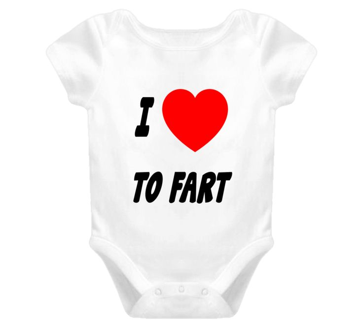 I love heart to fart FUNNY baby one piece funny t shirt