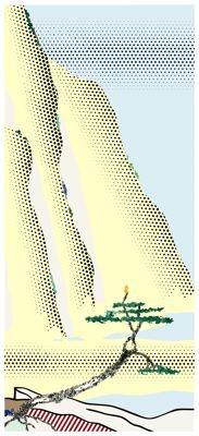 Yellow Cliffs- Lichtenstein- Art Institute of Chicago (Visit 08/13)