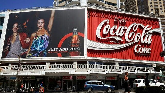 Kings Cross Sydney Coca-Cola