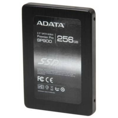 ADATA XPG SP900 ASP900S3-256GM-C 2.5 256GB SATA III MLC Internal Solid State Drive (SSD) by ADATA. $218.74. Description:The Premier Pro SP900 SSD not only boasts impressive performance numbers, but also offers a competitive price advantage to those looking to upgrade. It is expanded capacity solid state drive which uses new optimized firmware to utilize greater storage capacity of the NAND Flash components drive. With superior NAND Flash, the Premier Pro SP900 reaches...