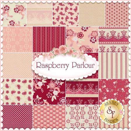 Raspberry Parlour 21 FQ Set by Sue Daley for @rileyblake - can't wait to use this fabric