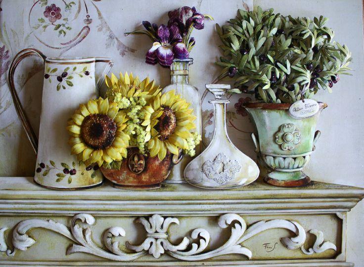 arte francesa#floral6