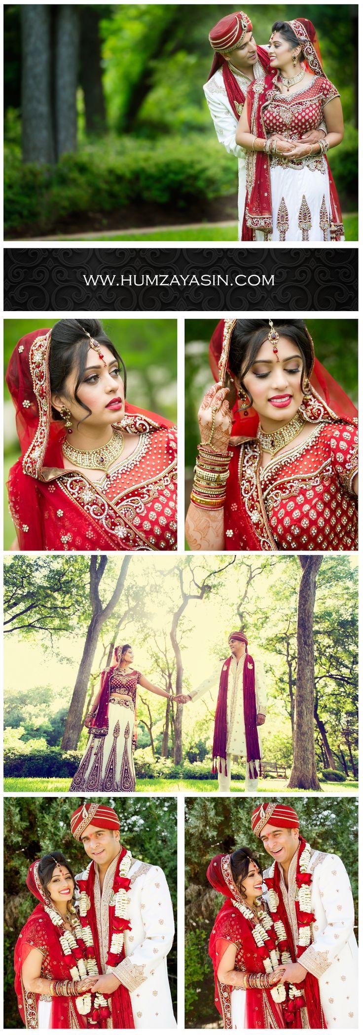Couple and Bridal Portraits Photographed by Dallas Wedding Photographer Humza Yasin
