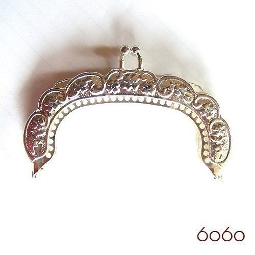 3.5 inch silver purse frame by 6060 on Etsy