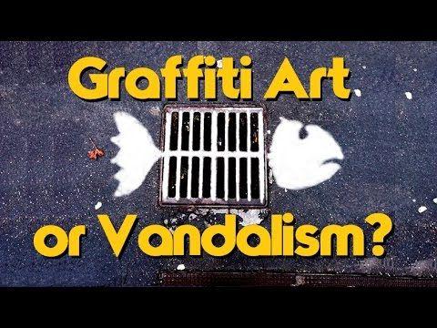 Graffiti:Art or Vandalism? - YouTube
