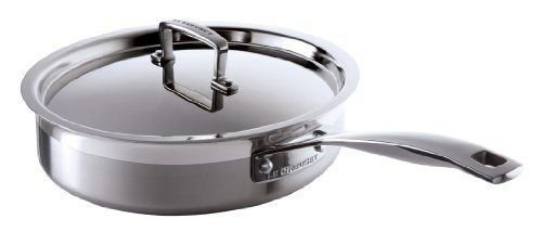 Le Creuset 3-Ply Stainless Steel Saute Pan with Lid, 24 cm by Le Creuset, http://www.amazon.co.uk/dp/B002VXY9VA/ref=cm_sw_r_pi_dp_mkBBsb0107SJ0