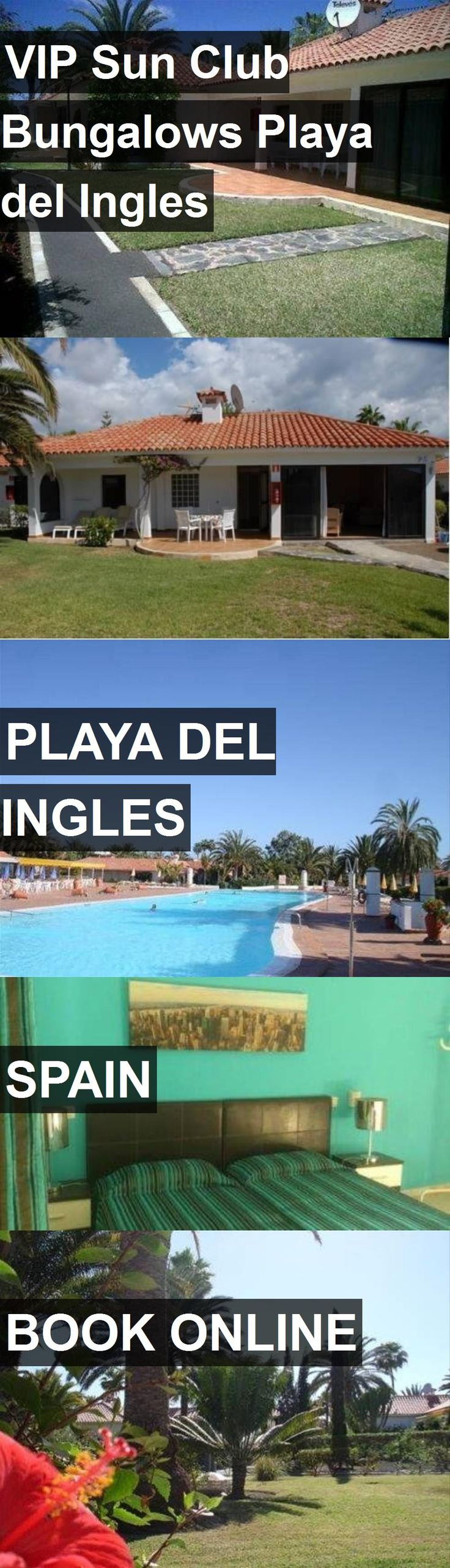 Hotel VIP Sun Club Bungalows Playa del Ingles in Playa del Ingles, Spain. For more information, photos, reviews and best prices please follow the link. #Spain #PlayadelIngles #travel #vacation #hotel