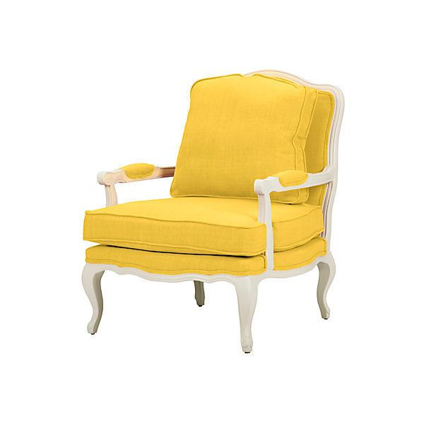 Agatha Accent Chair Yellow Accent & Occasional Chairs found on Polyvore