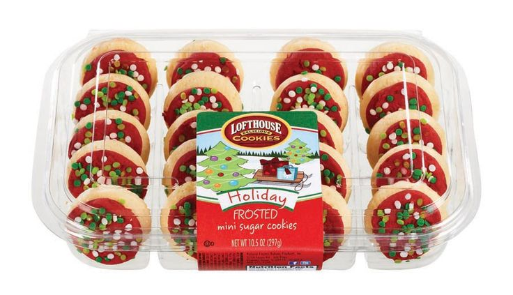Lofthouse holiday frosted mini sugar cookies lofthous holidays sugar
