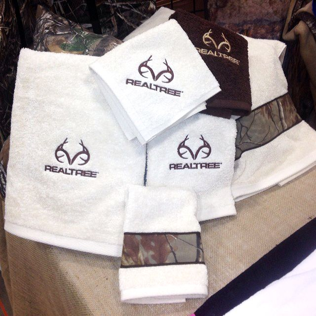 New Realtree Antler Logo Camo Towel Set Realtree Camo