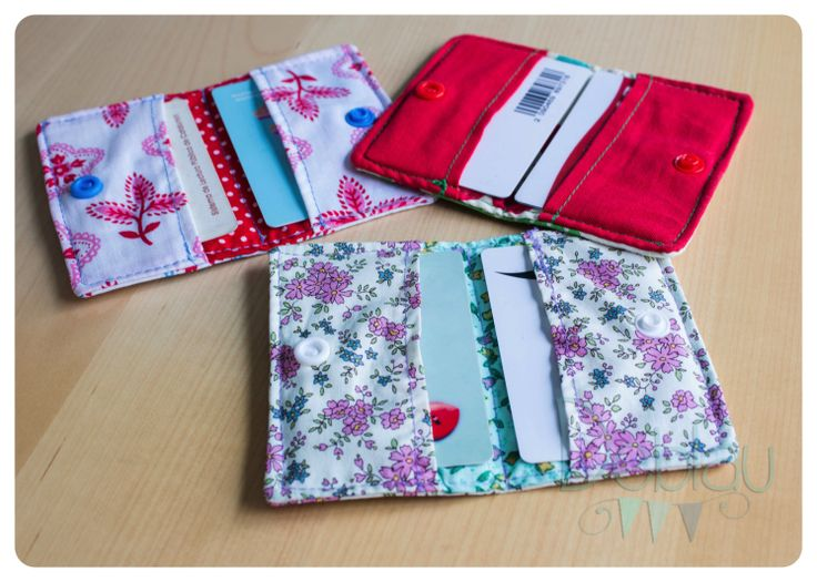 Tarjeteros DIY-Card holder DIY Costura-Sewing