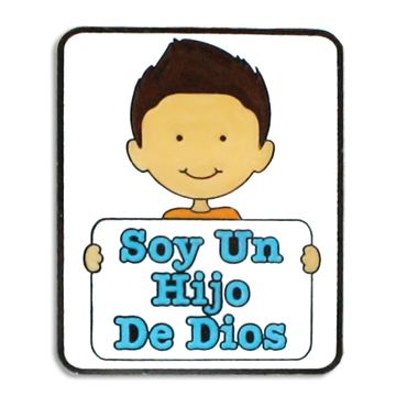 Soy Un Hijo De Dios Spanish LDS Pin for the 2013 primary theme
