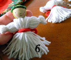 st. lucia's day crafts for kids | St. Lucy Ornament Tutorial