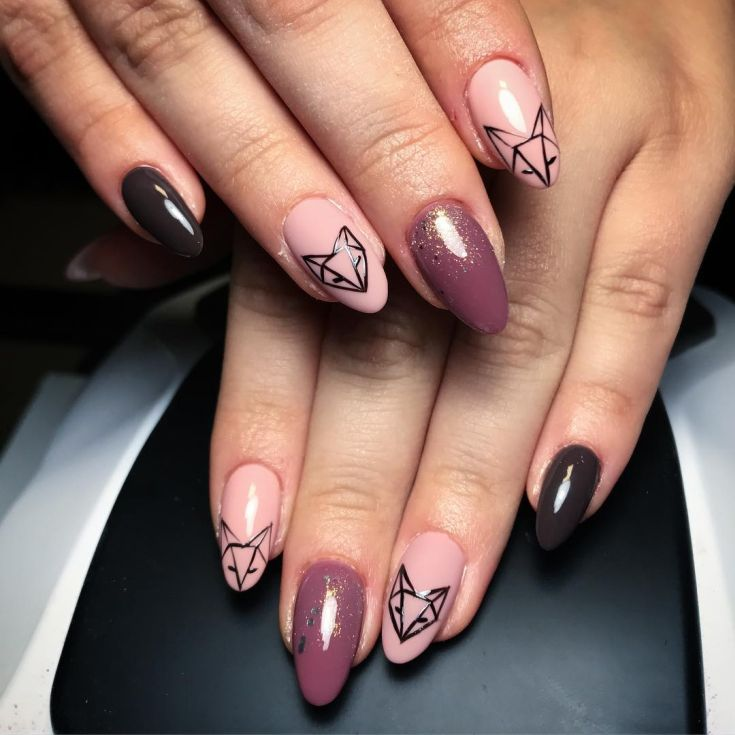 Top 33 Fox Nail Art Herbst 2019 – Nageldesign 2018