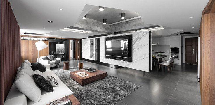 best 25 faux plafond moderne ideas on pinterest plafond moderne plafond moderne and plafond. Black Bedroom Furniture Sets. Home Design Ideas