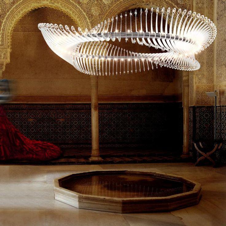 189 best lighting images on pinterest light design for Yellow goat chandelier
