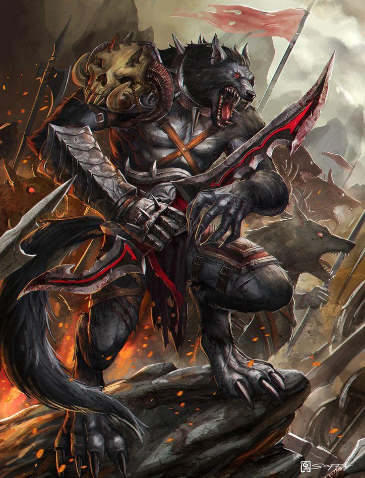 Картинки волка воина
