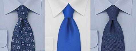 Голубая рубашка голубой галстук