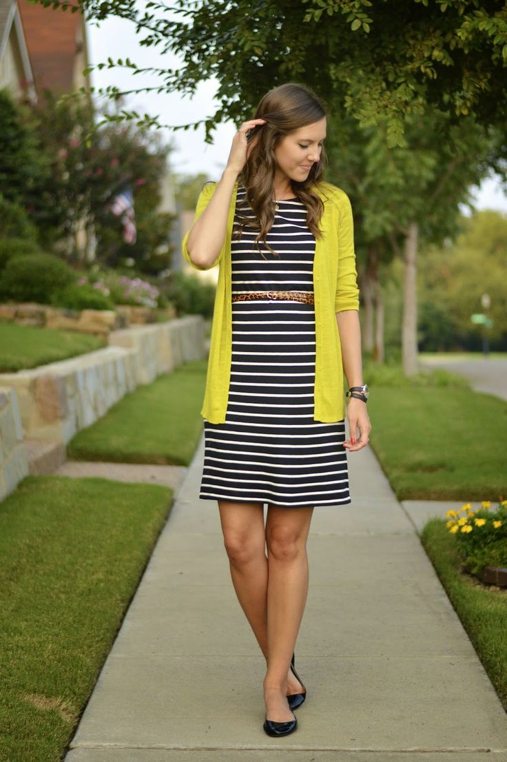8 best Style - Cardigan and Stripe Dress images on Pinterest ...