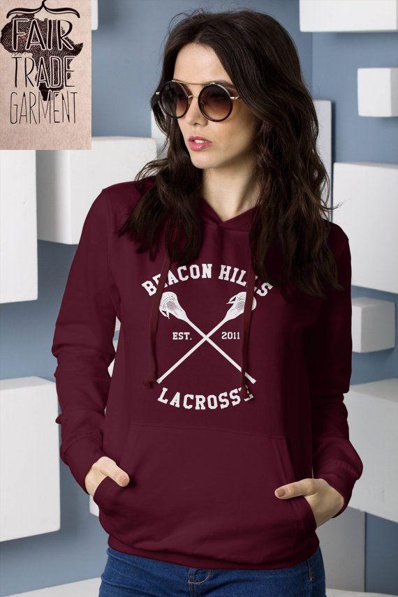 Teen Wolf Hoodie Beacon Hills Lacrosse Hoodie di DaiquisCraftRoom