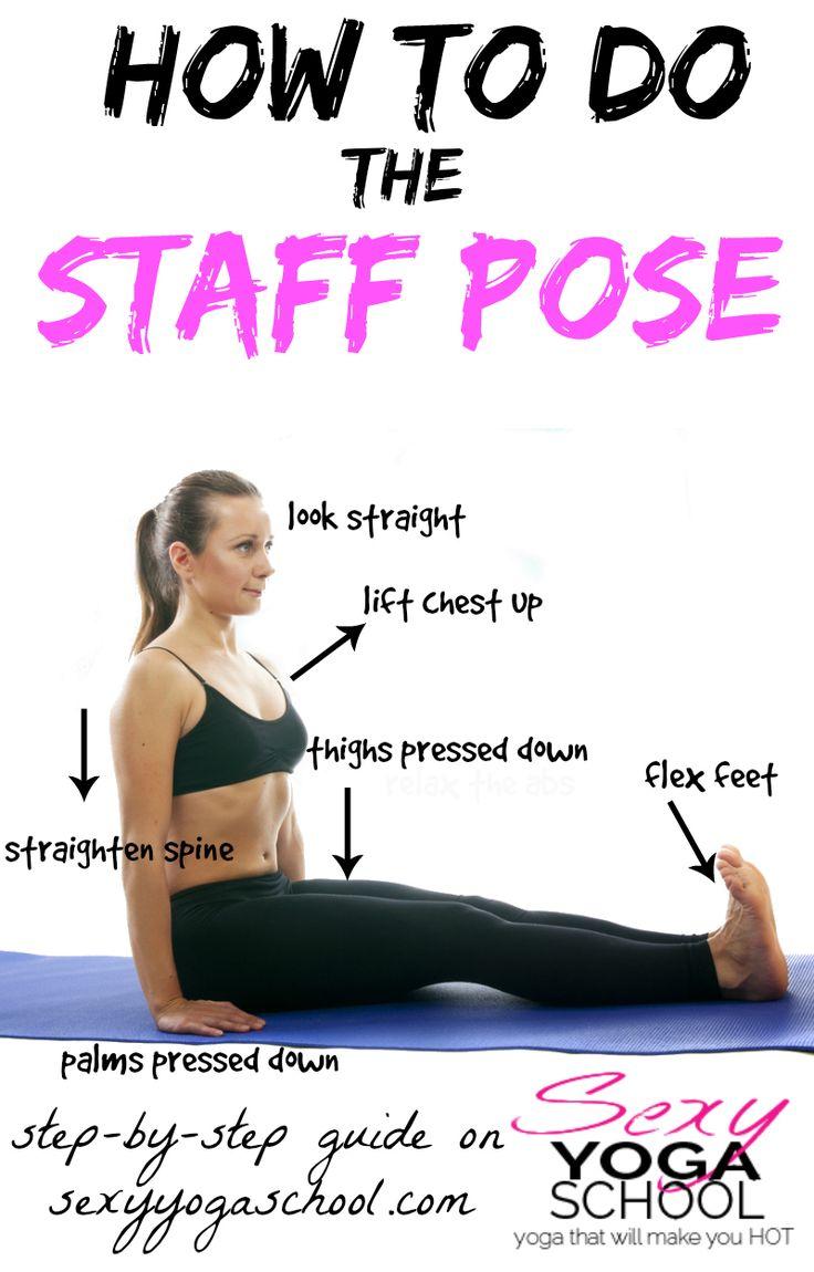 ♥ Dandasana Step-by-Step ♥ Sexy Yoga School ♥