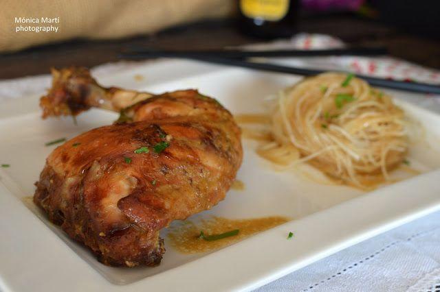 Pollo al Horno con Sirope de Arce y Mostaza Dijon | Saboreando las estrellas