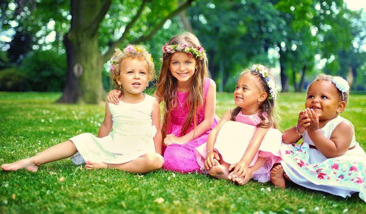 Obraz dětské radosti