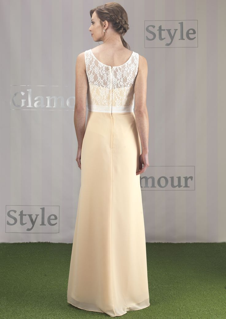 EN368 in Peach with Ivory overlay