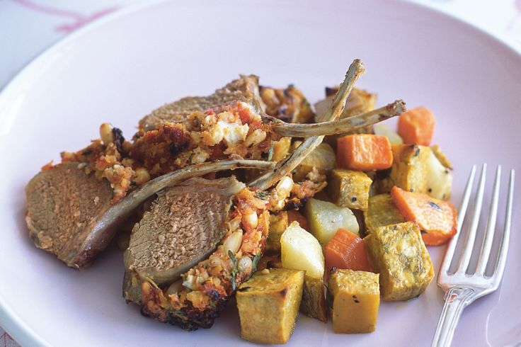 The classic combination of feta and semi-dried tomato make these lamb cutlets taste fantastic.  | Serves 2