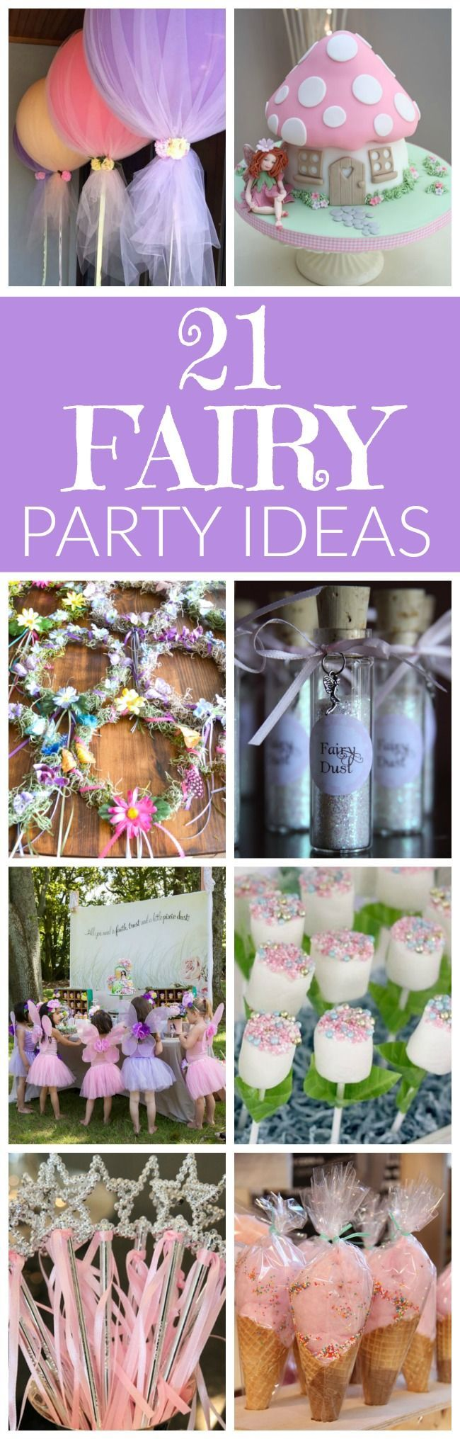 21 Fabulous Fairy Party Ideas Birthday Party1st