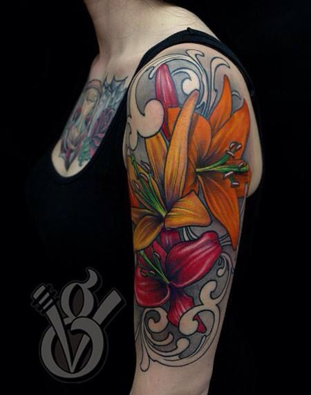 18 best images about sleeve tattoo design on pinterest for Women s 3d tattoos