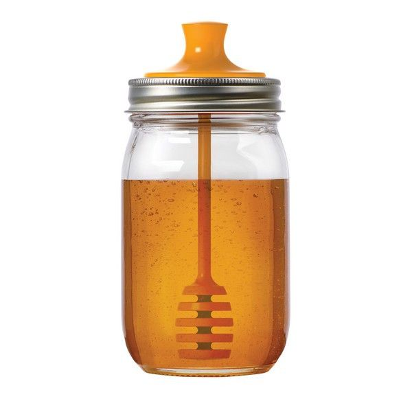 - Fits regular mouth mason jars - Recommended jar size: 16 oz - BPA Free and made from recycled materials! - Dishwasher Safe - Mason jar not included