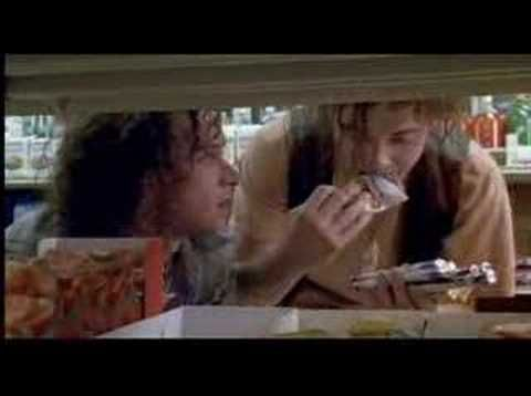 "Encino Man... ""Make up your melon!!!"" i love this movie and Pauly Shore probably plays my favorite movie character! He is so funny!!!"
