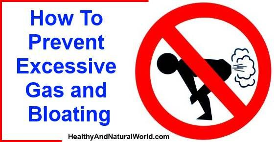 Prevent Excessive Gas and Bloating Naturally
