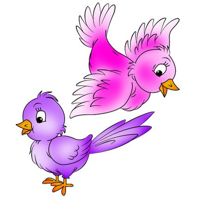 Love Birds Clip Art | love birds cartoon bird images cartoon bird images of tropical birds