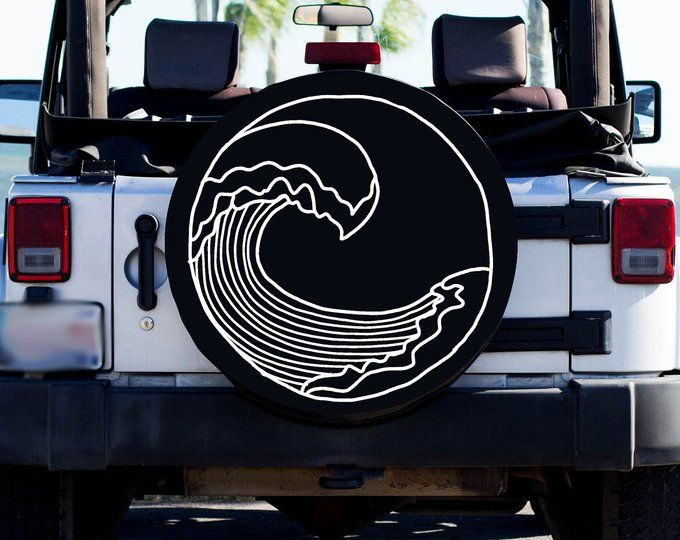 High Tides And Good Vibes Tire Cover Spare Tire Cover Beach