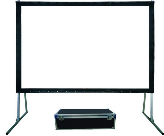 PROJECTION SCREEN [USD 200].  The projection screen allows movies to be projected into the outdoor classroom for teaching and in the multi-use space for community movie nightS
