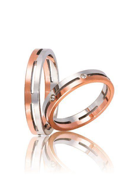Βέρες ΣΤΕΡΓΙΑΔΗΣ με Διαμάντια από Χρυσό σε Λευκό και Ροζ Χρώμα 9Κ Αναφορά 012474 Ζευγάρι βέρες γάμου ΣΤΕΡΓΙΑΔΗ από Χρυσό 9Κ σε ροζ χρώμα και λευκό.Η γυναικεία είναι διακοσμημένη με πολύτιμες πέτρες (μπριγιάν).Το μέγεθος τους προσαρμόζεται με το νούμερο της αρεσκείας σας.